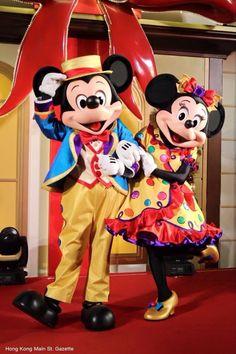 Mickey & Minni