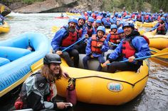 Whitewater rafting on the Kananaskis River with Chinook Rafting!