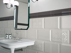 marazzi oxford beveled gris   Revêtements muraux: cuisine, salle de bain, douche et autres ...