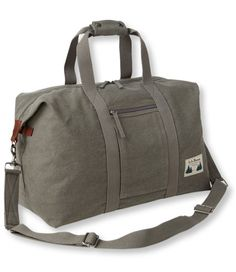 Field Canvas Duffle: Duffle Bags | Free Shipping at L.L.Bean