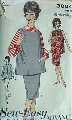 More Vintage Maternity - So glad I live in the 21st Century.