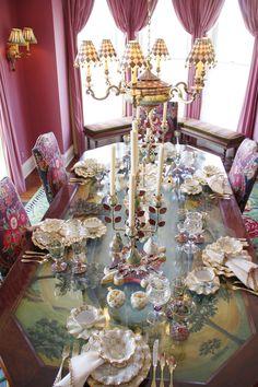 Shabby Chic ● Vintage Dining room