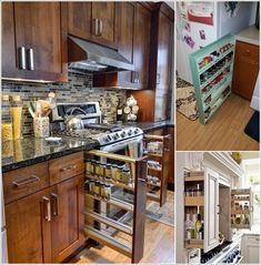 10 Places in Your Kitchen to Install a Spice Rack