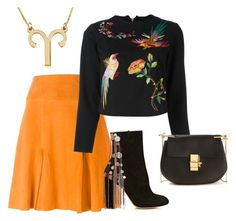 """""""Untitled #304"""" by ema-jones on Polyvore featuring Dagmar, Aries and Chloé"""