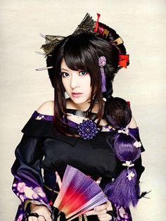 Yuko Suzuhana from Wagakki Band Vocaloid, My Moon And Stars, Punk Rock Fashion, Favorite Person, Visual Kei, Geisha, Real People, Hair Hacks, Hair Tips