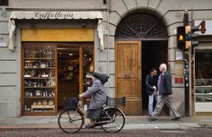 """Nun on a bike! - """"Modena, Balsamic Vinegar, and the Opposite of Location Independence"""" by @Kate McCulley"""