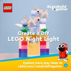 Lego For Kids, Diy For Kids, Crafts For Kids, Lego Projects, Projects For Kids, Legos, Lego App, Lego Challenge, Lego Activities