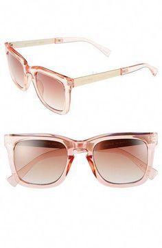 7c6a1b92f4 MINKPINK 50mm Retro Sunglasses Pixie Pink  Silver One Size   MensFashionNightOut Clubmaster Sunglasses