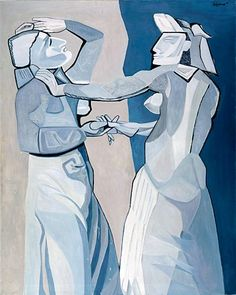 robert Colquhoun, Dancers Rehearsing, 1958. BBC Arts - BBC Arts - The Two Roberts: Love, paint and poverty