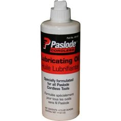 paslode cordless nailer lubrication oil 4oz bottle 401482 home depot canada