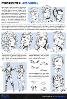COMIC QUICK TIP: Do you want your Comic Book Characters to feel more real? Then check out Comic Quick Tip #1 – Get Emotional! You'll discover two key tactics that'll help you express more emotion and personality in your Comic Book Hero's and Foes than ever before. Get your High Resolution Comic Quick Tip right HERE: http://www.howtodrawcomics.net/#!comic-quick-tip-1/c18hj Enjoy! -Clayton
