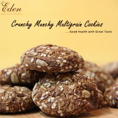 Dale's Eden Cake Shop - Crunchy Munchy Multigrain Cookies http://www.daleseden.com/UserPages/mainPage.aspx/Cookies?id=36