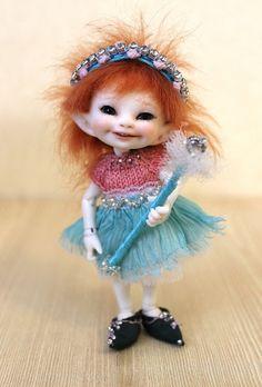 Real Puki Realpuki Tiny Doll Outfit Fairy by DesertMountainDoll