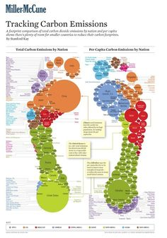 Carbon Footprint Infography - per nation or per capita - what a difference! | COP21 - Paris 2015 | Scoop.it