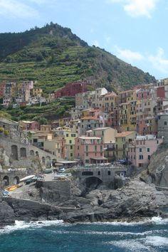 A trip to Italy: wish list for sure!    Manarola Cinque Terre Italy