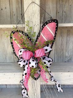 Valentine Burlap Door HangerValentine WreathHeart by Keleas