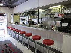 Check out Mike's City Diner's Brand New, Art Deco-Inspired Look - South End