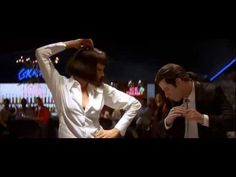 Pulp Fiction - Dance Scene (HQ) - YouTube