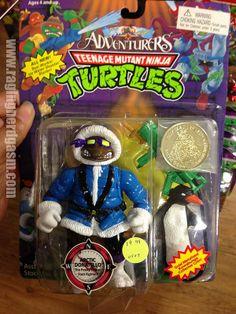 TMNT Teenage Mutant Ninja Turtles by Playmates Carded Adventures - Artic Donatello https://www.flickr.com/photos/ragingnerdgasm/sets/72157633403686079/