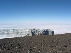 Icefield @ summit of Mt. Kilimanjaro in Tanzania.  You will be missed.