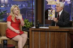 "Brandon Blackstock liked it so he put a ring on it. Newlywed Kelly Clarkson parades her wedding ring on ""The Tonight Show With Jay Leno"" on Nov. 11 in Burbank, Calif."