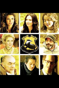 Hufflepuff sorted Once Upon a Time characters.