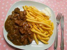 Koken met Rianne: Stoofvlees met patat
