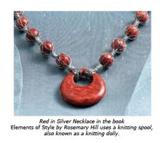 Mesh and Nets in Jewelry Making - Tutorials and Inspiration - The Beading Gem's Journal Loom Knitting Stitches, Spool Knitting, Diy Jewelry Tutorials, Jewelry Ideas, Viking Knit, Wire Crochet, I Cord, Elements Of Style, Make Your Own Jewelry