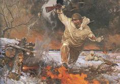 "А.Н. Семенов ""Подвиг младшего лейтенанта Николая Шевлякова"" 1985 г."