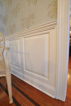 9 Easy And Cheap Useful Tips: Wainscoting Colors Cabinets wainscoting interior craftsman style.Wainscoting Colors Board And Batten white wainscoting bedroom. Dining Room Wainscoting, Beadboard Wainscoting, Wainscoting Panels, Wainscoting Nursery, Dining Room Windows, Wainscoting Ideas, Wood Paneling, Panelling, Dining Room Design