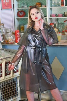Raincoats For Women WomenS Jackets Girls Raincoat, Green Raincoat, Vinyl Raincoat, Raincoat Jacket, Plastic Raincoat, Hooded Raincoat, Black Rain Jacket, Satin, Leather