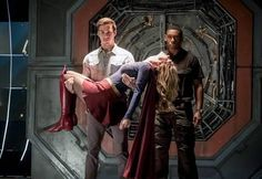 Monel and jonzz+j'onzz (supergirl) travel to Earth 1 in hope to save Kara and warn Barry. The Flash 3x17