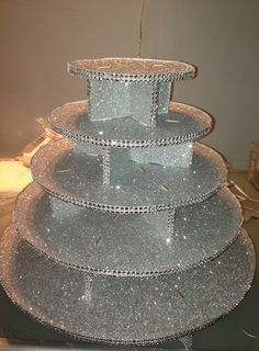 Ordered Cupcake Tree from Save-On-Crafts and decorated by: Patricia Sosa