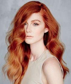awesome Coupe cheveux long : Velvety Auburn Hair Color Ideas...