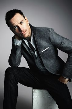 Michael Fassbender - talented and not traditionally handsome.  He can appear both creepy and hot at the same time.   Not sure why I like that - but I do.  Plus, he has amazing eyes.