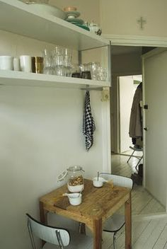 small dining for a kitchen