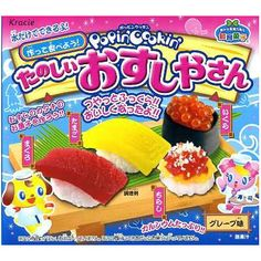 Popin' Cookin' Happy Sushi House Candy Making Set (these things are so much fun and this is the best!)