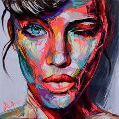 Faces iii vassilis antonakos art pinturas in 2019 arte pintura, retrato abs Abstract Face Art, Abstract Portrait, Portrait Art, Portraits, Tableau Pop Art, Arte Pop, Female Art, Female Faces, Love Art