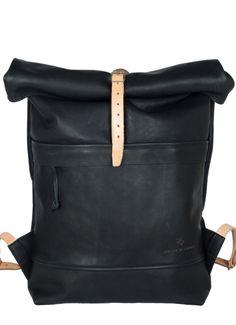 Black Leather bag // atelierdelarmee.com