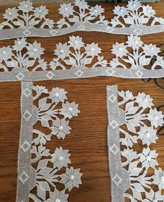 Emine Esirgenler Duyan's media content and analytics Irish Crochet, Crochet Shawl, Crochet Edgings, Crochet Dress Girl, Pink Shawl, Crochet Curtains, Bobbin Lace, Needle Lace, Hand Embroidery Stitches