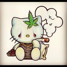 pothead hello kitty