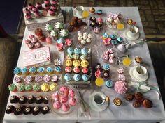 MUFFINS De café con leche, chocolate, vainilla, marmolados, red velvet, de rosa mosqueta. Cupcakes en tacitas de silicones.