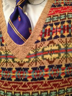 Fair isle. These colours and pattern are so beautiful ...