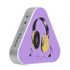 Cool Headphones Bluetooth Mini Speaker by #MoonDreamsMusic #BluetoothSpeaker #headphones