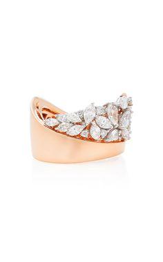 Pink Strada II Ring by YEPREM for Preorder on Moda Operandi - The best diamond fashion Diamond Rings, Diamond Jewelry, Jewelry Rings, Fine Jewelry, Unique Jewelry, Marquise Diamond, Diamond Necklaces, Pink Ring, Schmuck Design