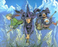 My three favorite witches in the whole DiscWorld.