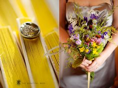 DIY Wildflower bouquet! So pretty! By The Beautiful Mess