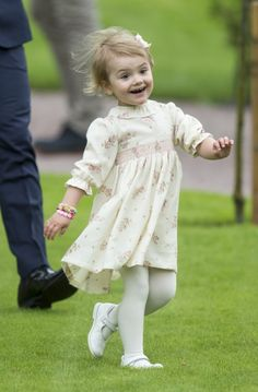 Princess Estelle of Sweden, rivaling George for cutest baby royal.