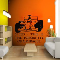 Formula Wall Decal Kids Room Pinterest Personalised Wall - Formula 1 wall decals