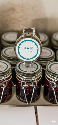 A perfect #summer wedding favor: Mini Wire Snap Jar with Goodies Inside! See our other Top 10 picks here: http://blog.weddingstar.com/product-spotlight-top-ten-summer-wedding-favors/